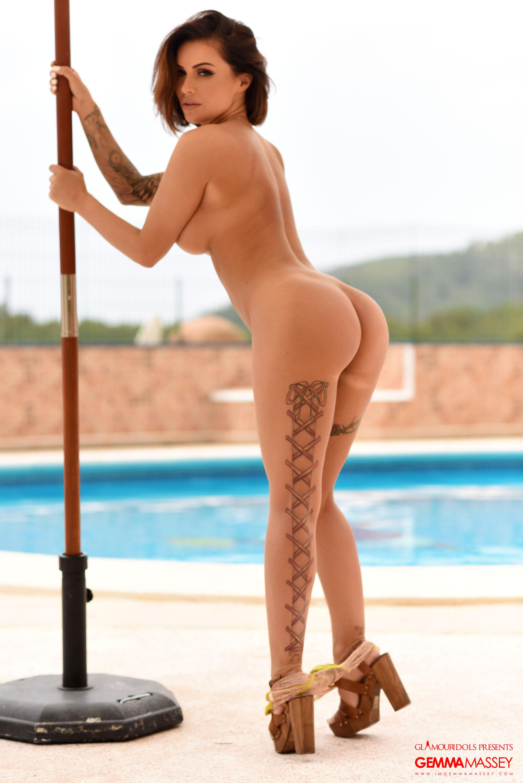 Gemma Massey. Nude Glamour Model